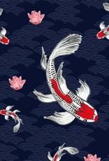 Servetten 33x33 cm - Koi Fish