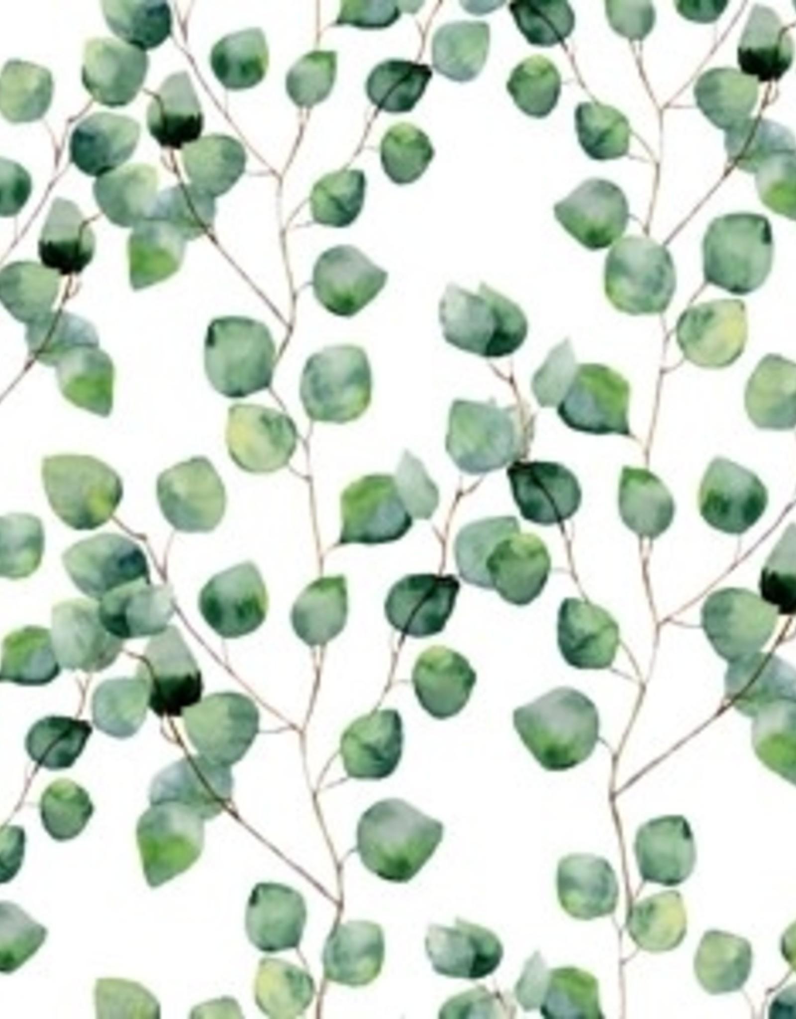 Servetten 33x33 cm - Aquarell Leaves