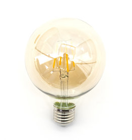 Lamp bolvormig - warm licht - 4W - dimbaar
