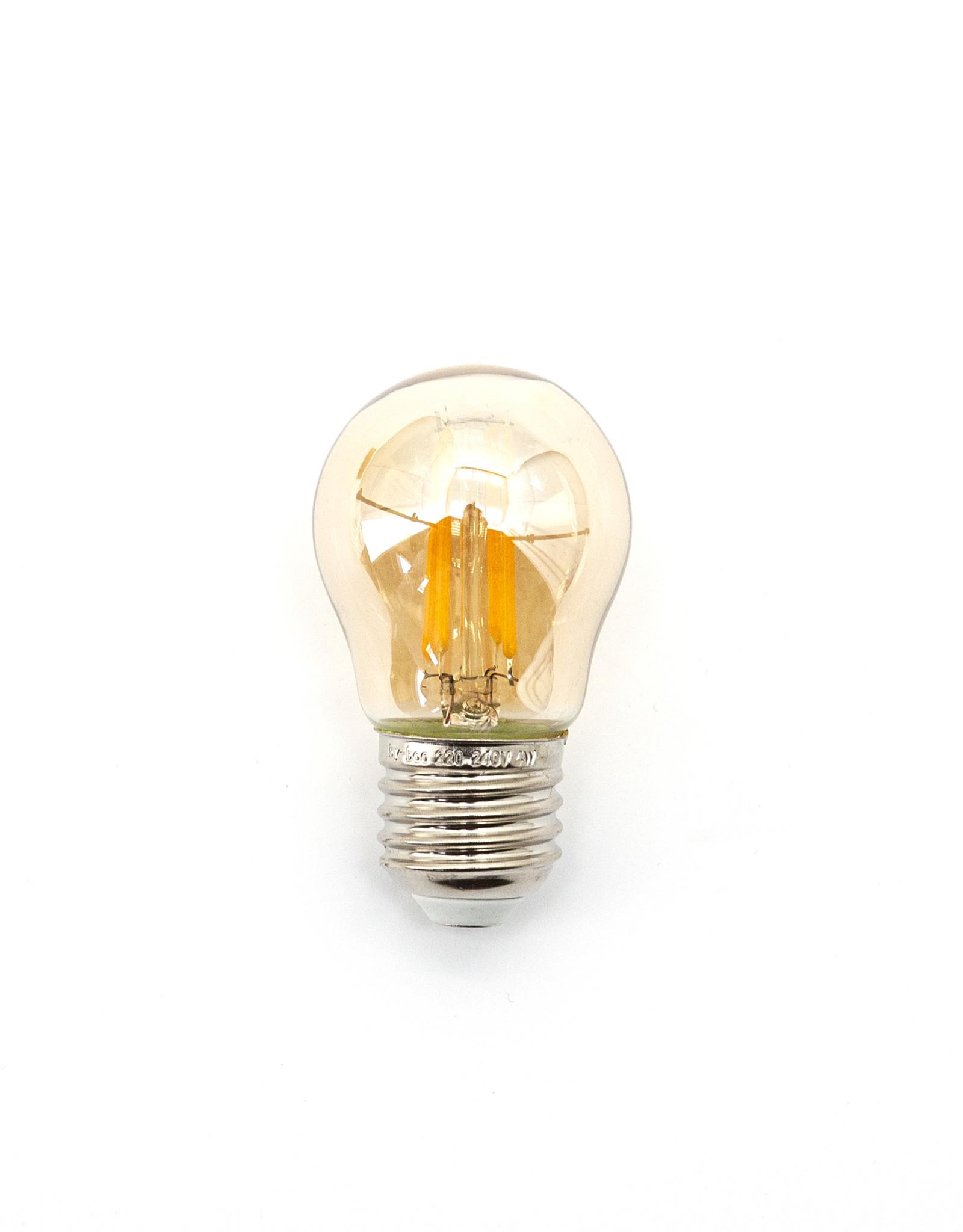 Lampje Kogel - 2W - niet dimbaar