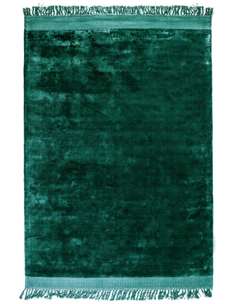 Vloerkleed Velvet Groen 160x230 cm