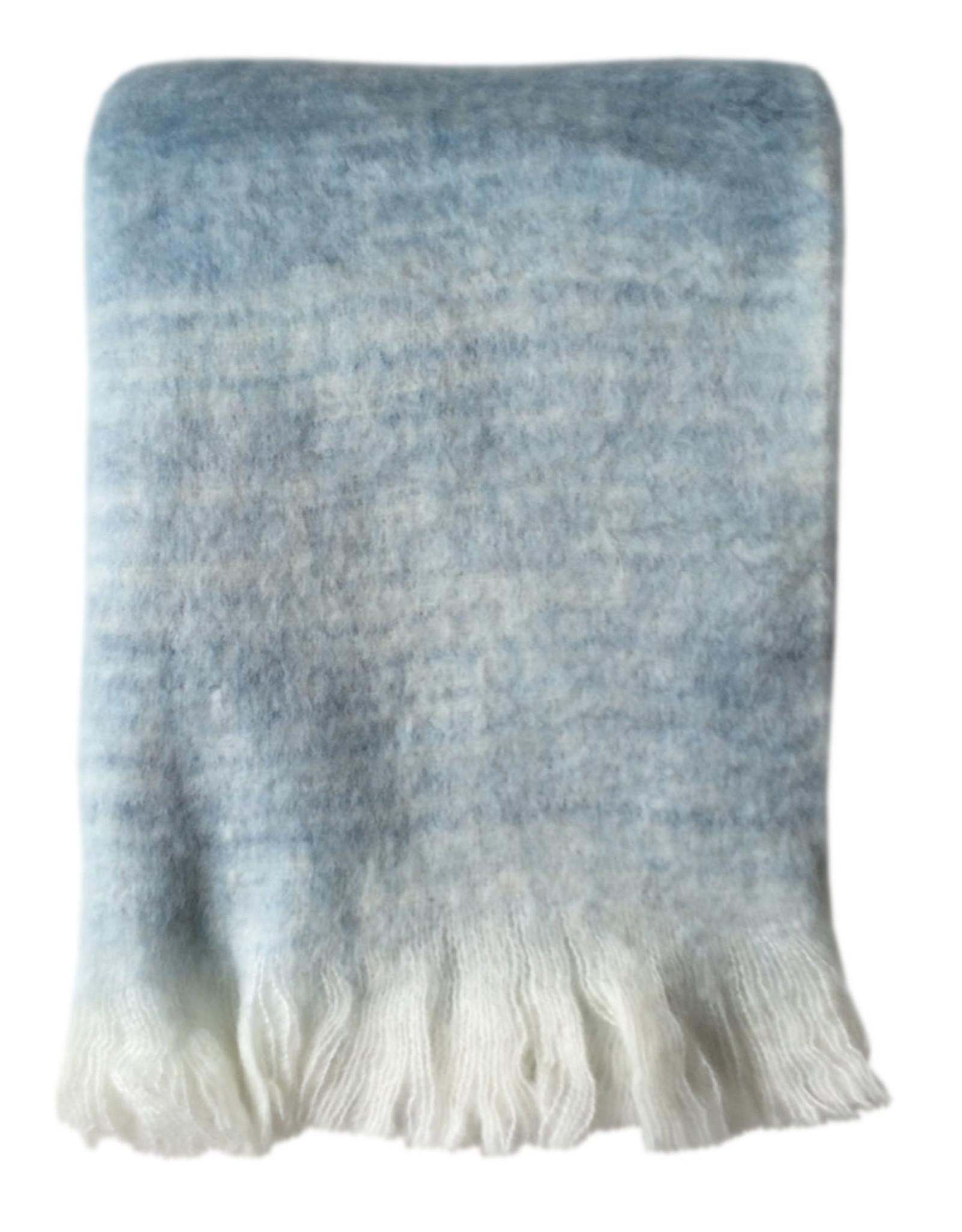 Plaid Soft Tye Dye Blue