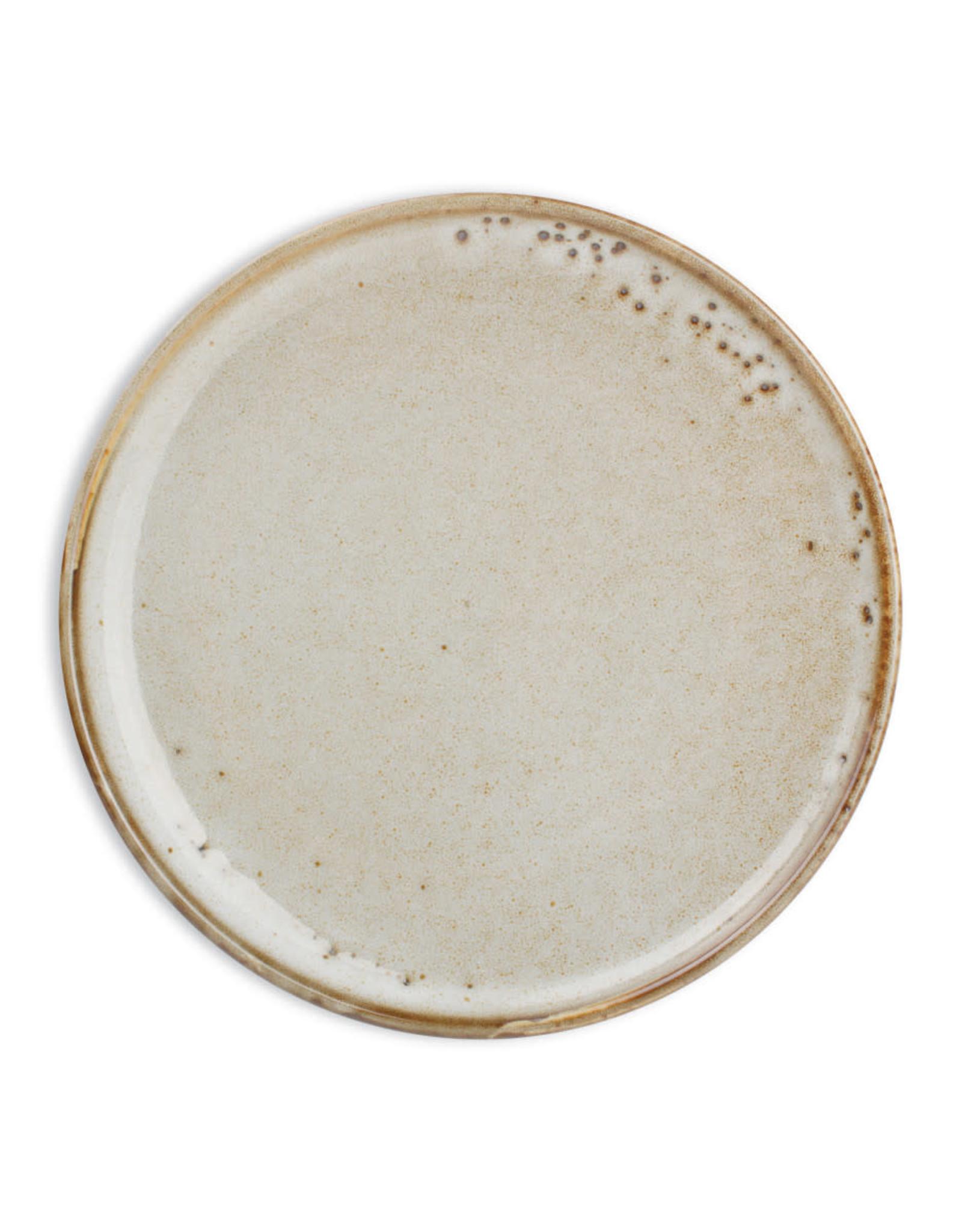 Ontbijtbord 20 x 2.5 cm - Grey Munduk