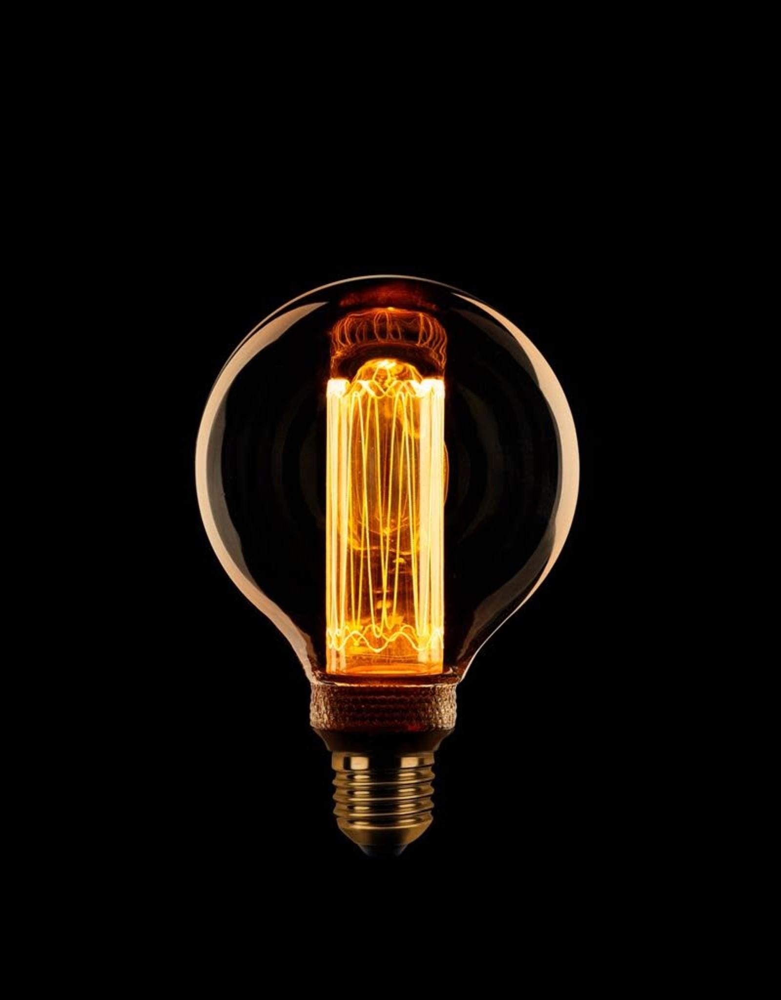 Lamp LED kooldraad dimbaar - Globe 80mm E27