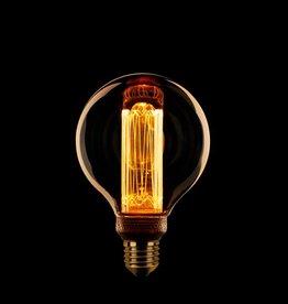 LED Lamp Globe 8 cm kooldraad dimbaar -E27