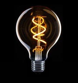 Lamp met sensor LED - Globe spiraal E27
