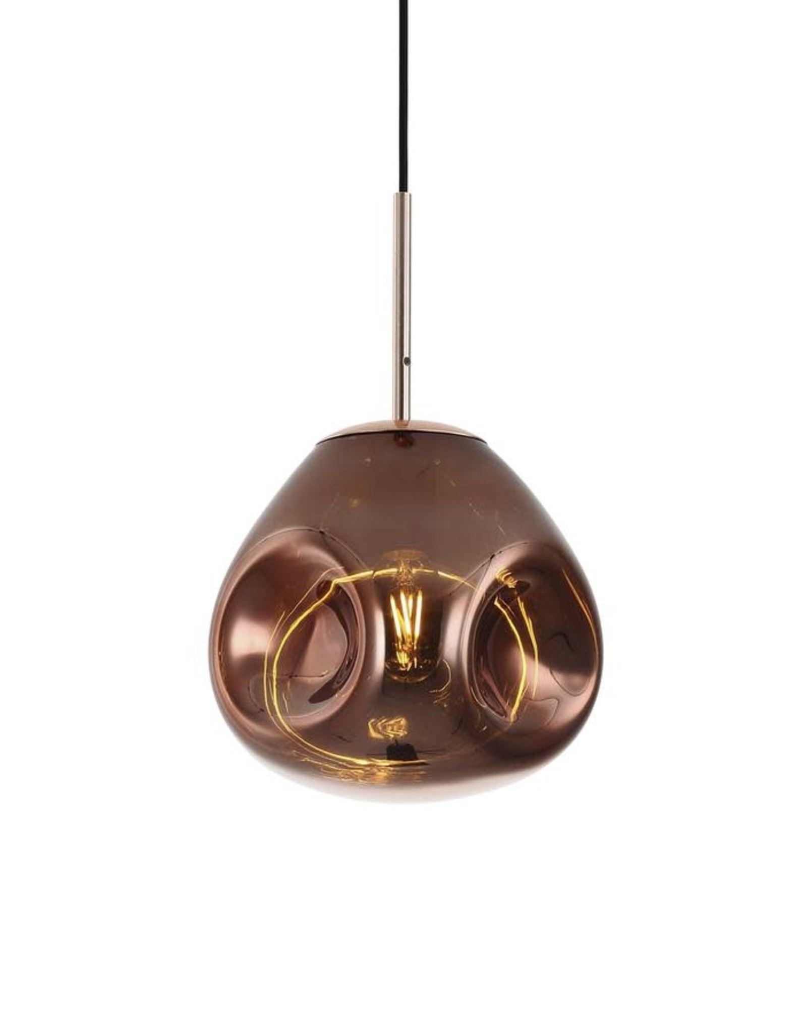 Hanglamp Melt Copper rond