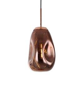 Hanglamp Melt Copper langwerpig