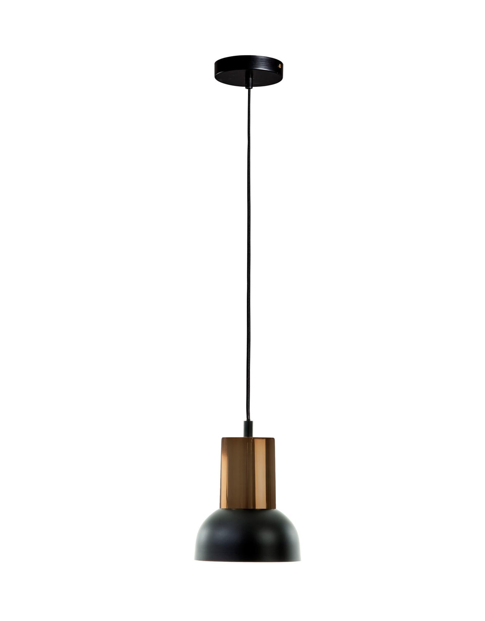 Hanglamp Black & Copper