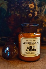 Paddywax Geurkaars sojawas - Amber & Smoke 226g
