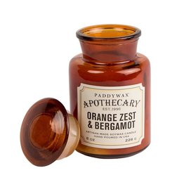 Paddywax Geurkaars sojawas - Orange Zest & Bergamot 226g