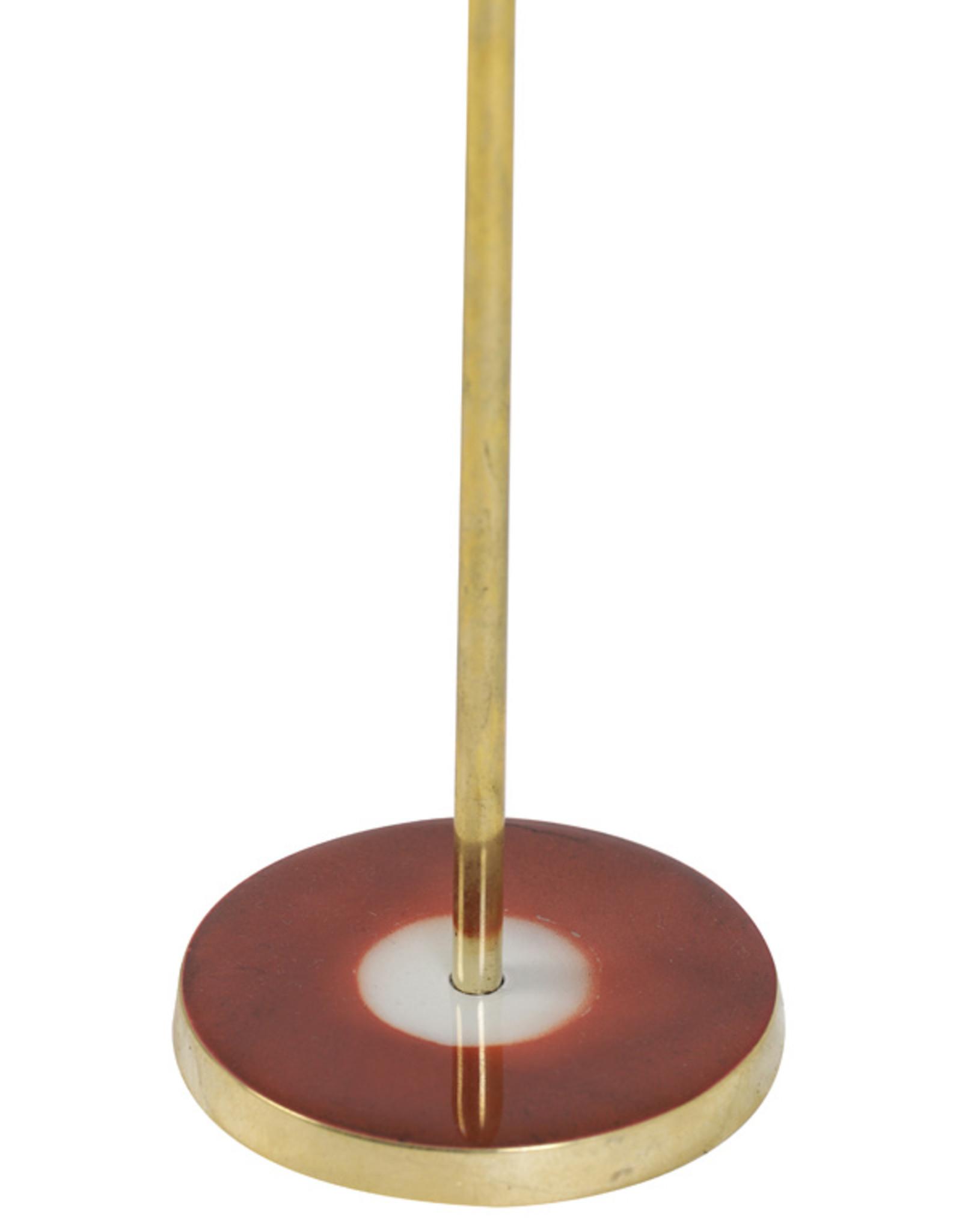 Kandelaar Pink & Gold H30.5 cm