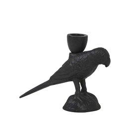 Kandelaar Parrot Black