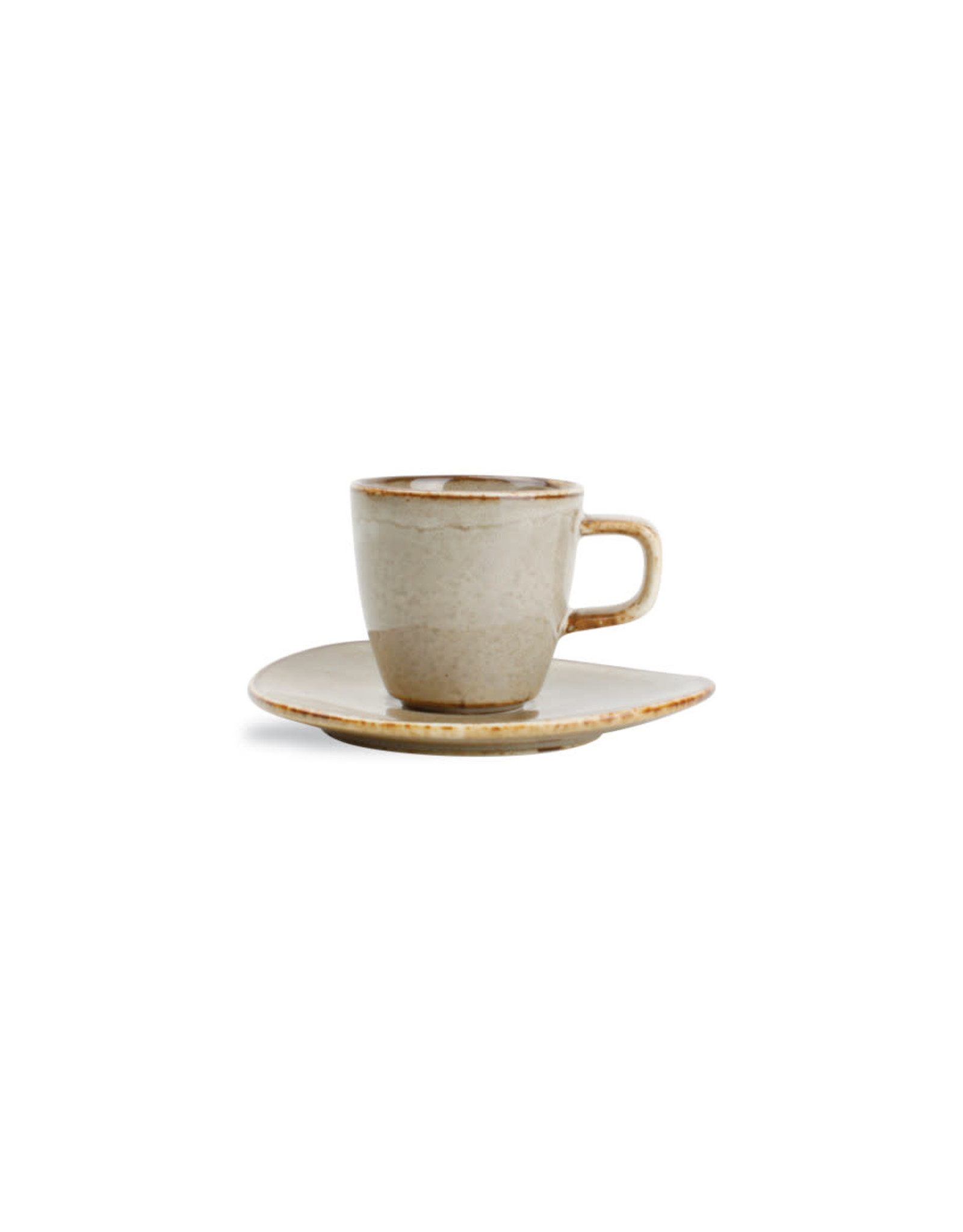 Espressotasje + onderbordje Beige 0.09L