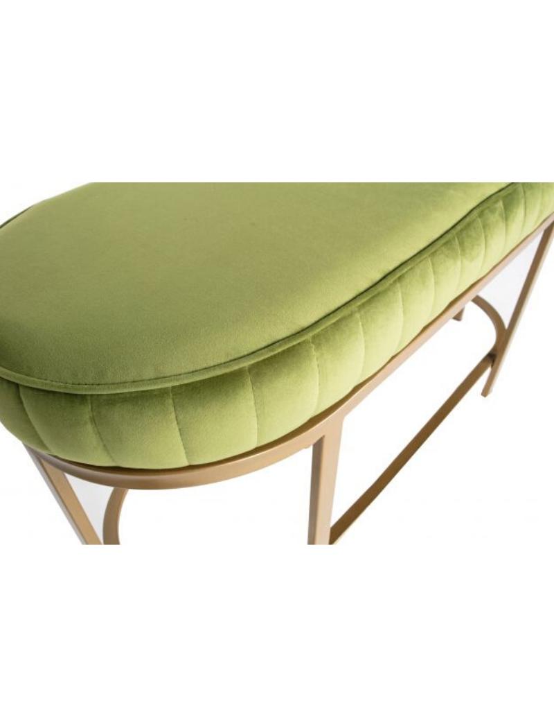 Hocker Velvet Groen