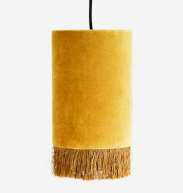 Hanglamp Velvet + Franjes - oker