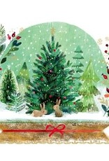 Servetten Holiday Snowglobe 33x33 cm