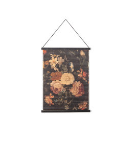 Wanddeco Bloemen