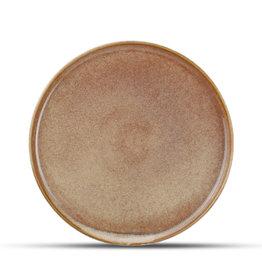Bord Keramiek roodbruin Ø27 cm
