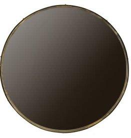 Spiegel XXL Ø100cm - gouden rand