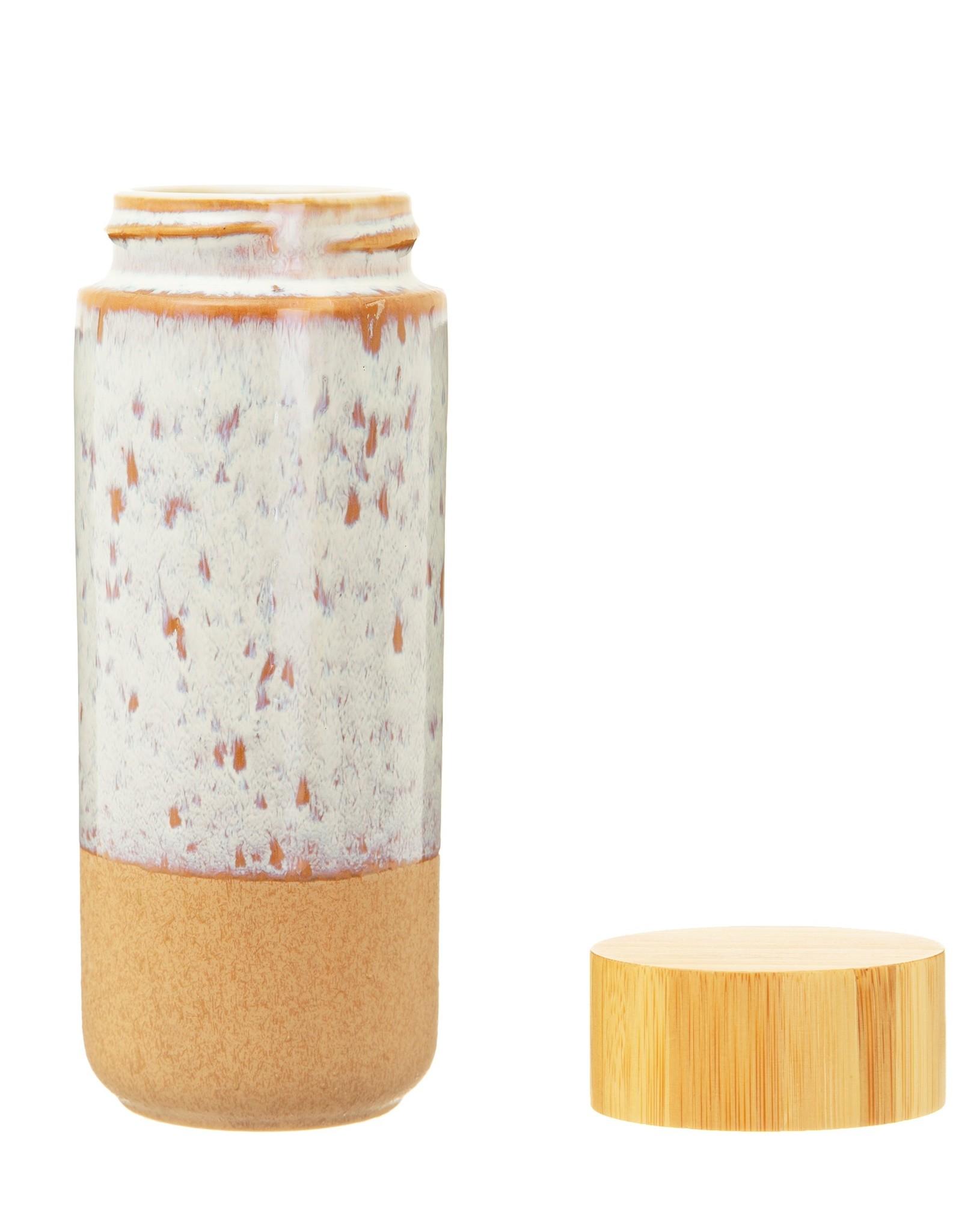 Thermische fles in keramiek