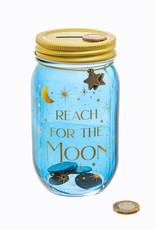 Spaarpot 'Reach for the Moon'