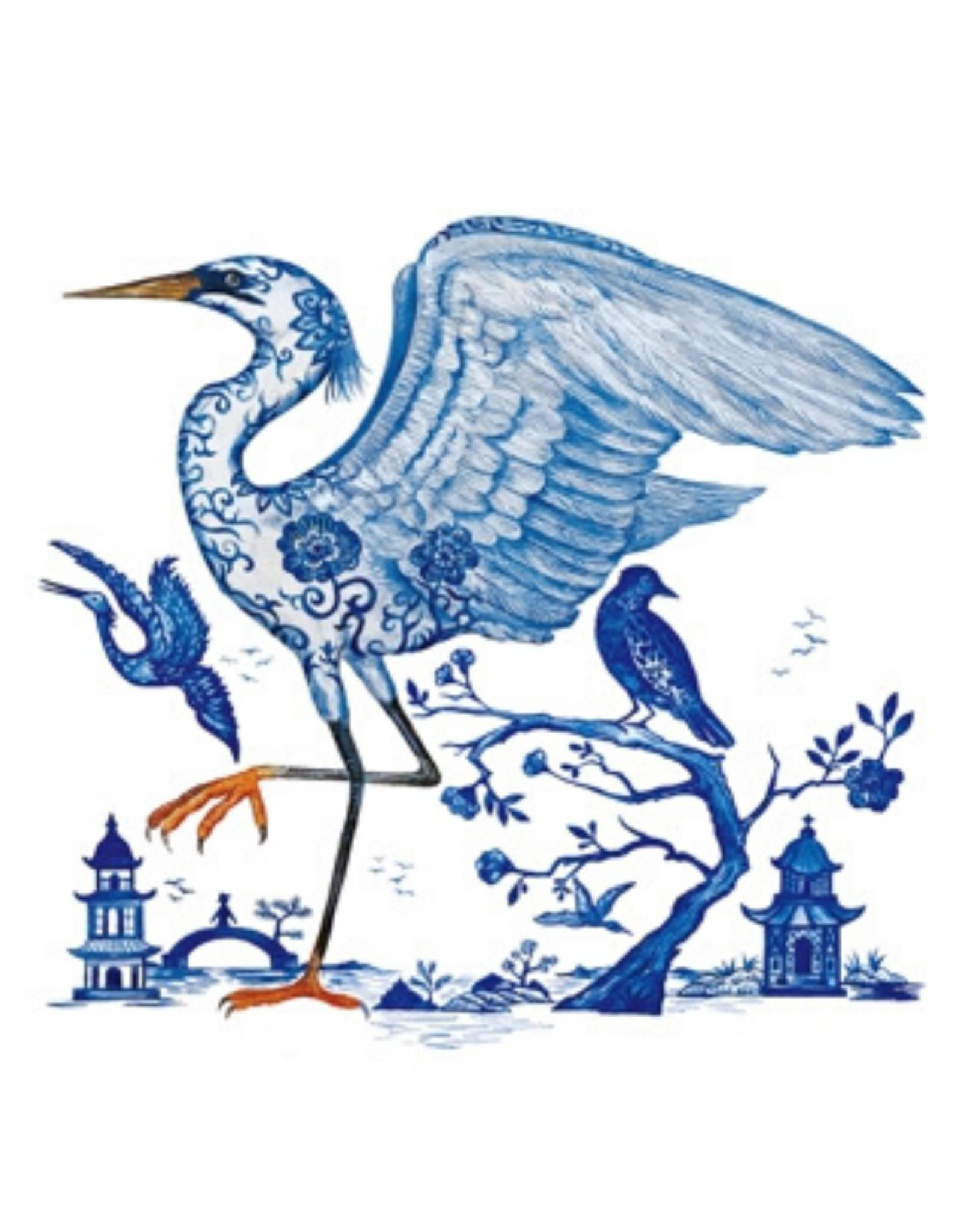 Servetten Prince's Egret 25x25 cm