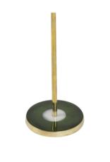 Kandelaar Green & Gold M