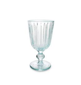 Wijnglas 0.25L - blauw glas