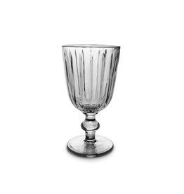 Wijnglas 0.25L - zwart glas