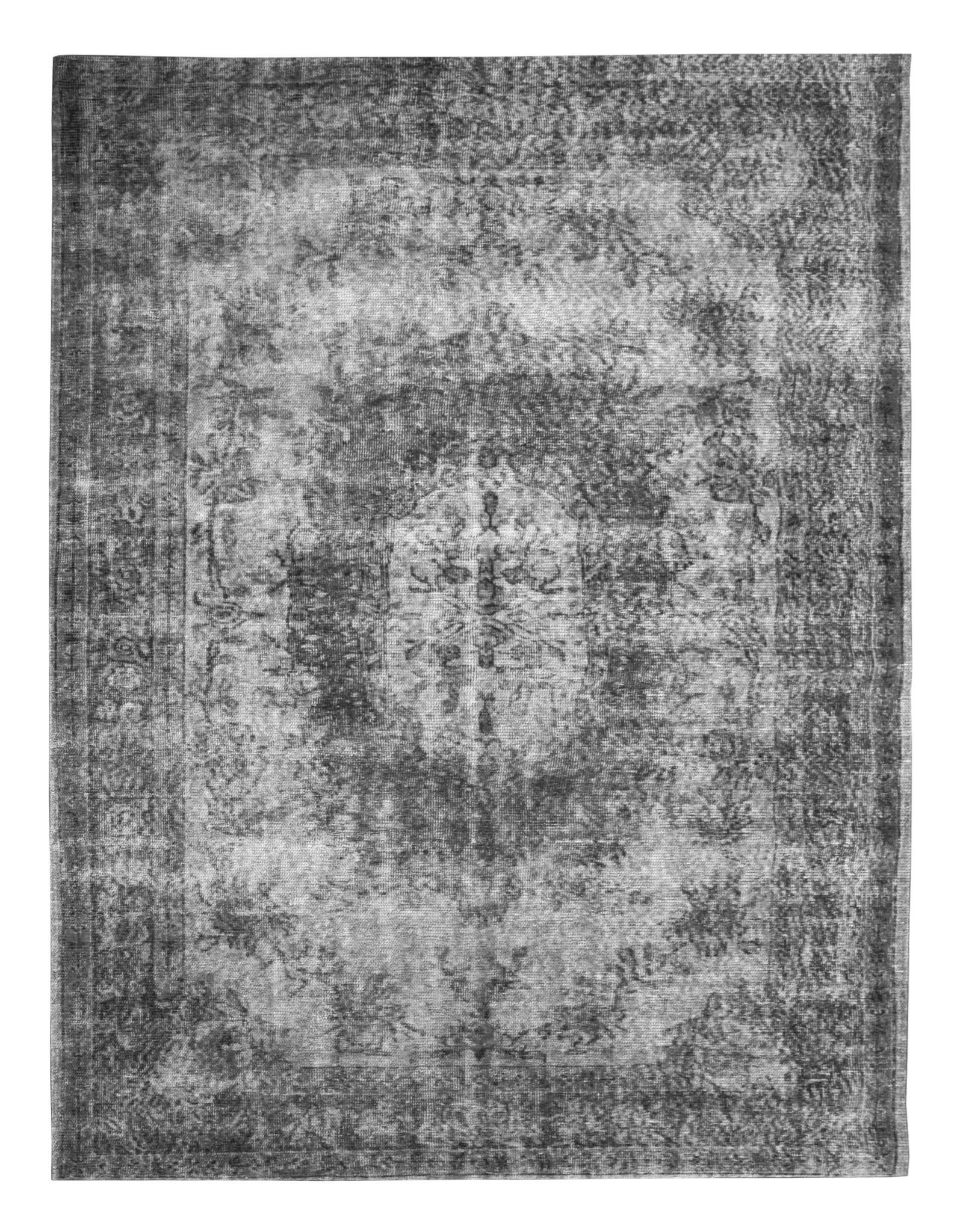 Vloerkleed Fiore 160 x 230 cm - antraciet