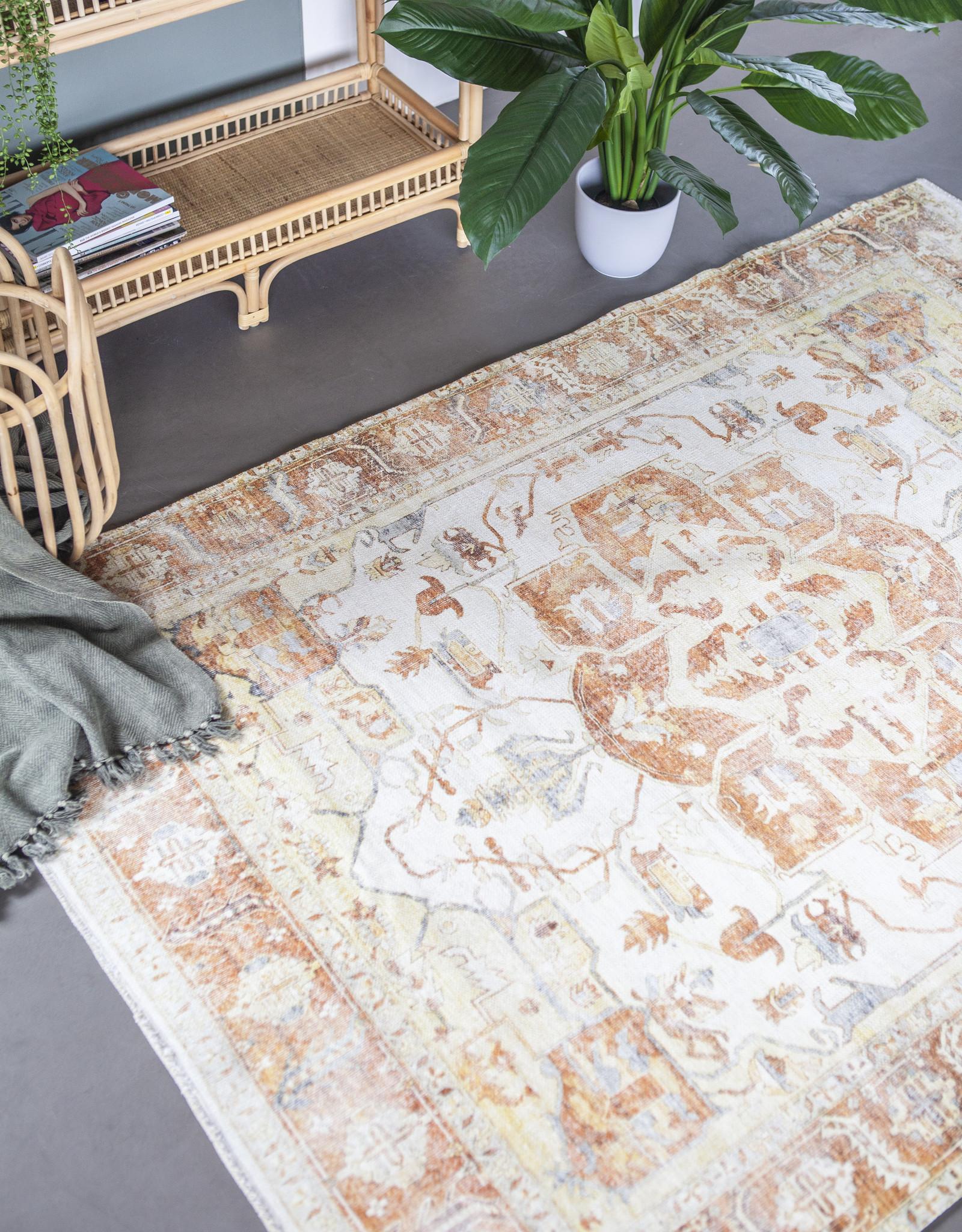 Vloerkleed Alex 160 x 230 cm - oranje
