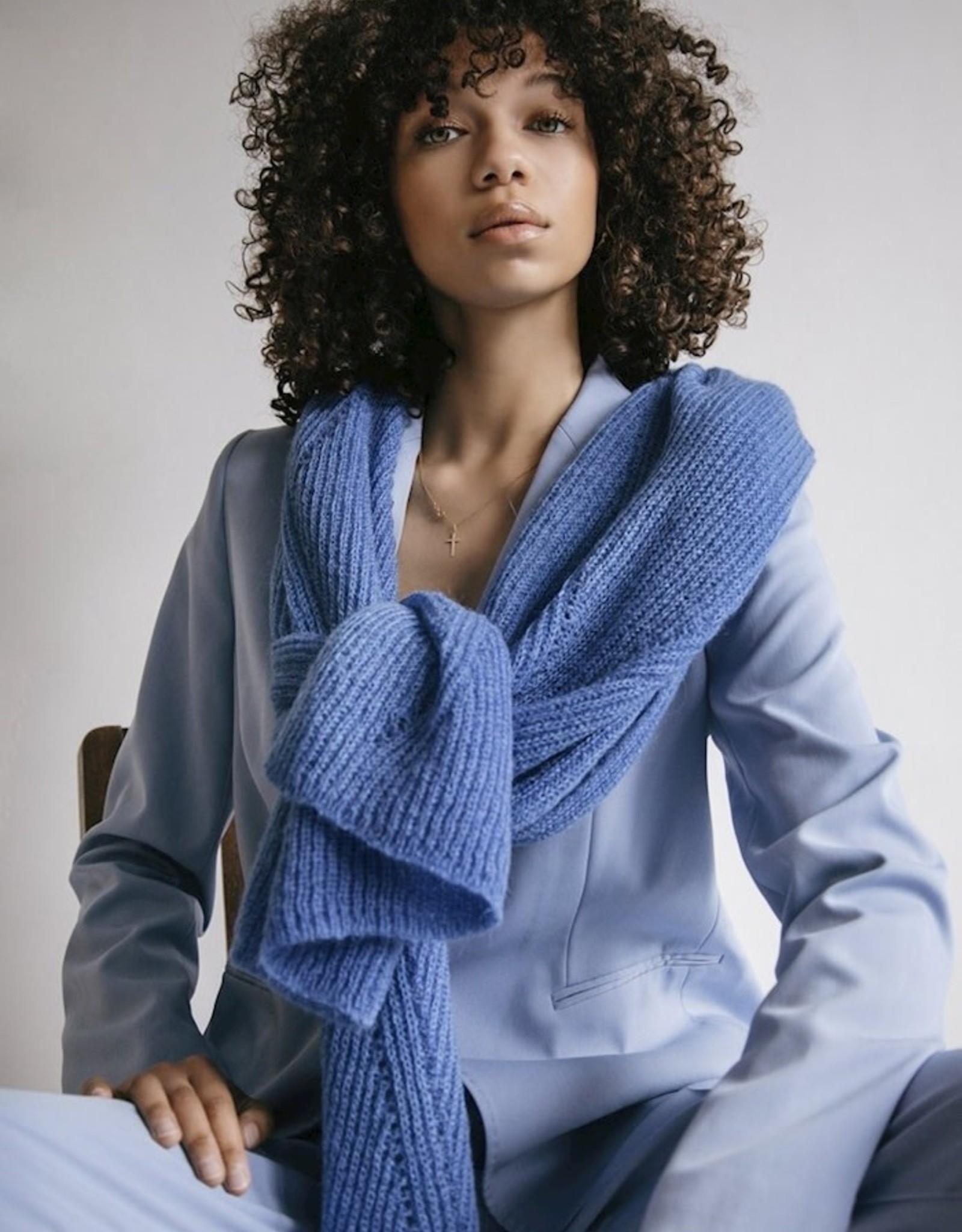 leselles Leselles Sjaal Jille - indigo blue