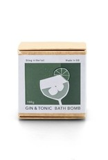 Sting in the Tail Gin & Tonic Bath Bomb