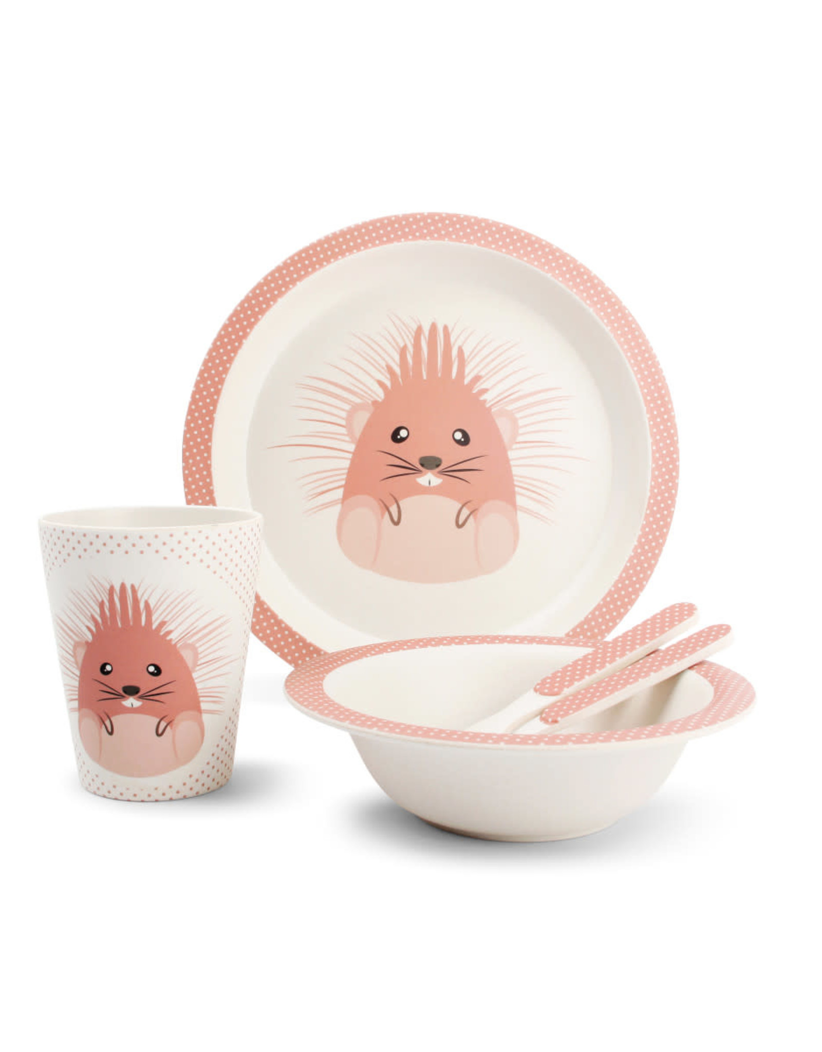 Servies Bamboo - Hedgehog