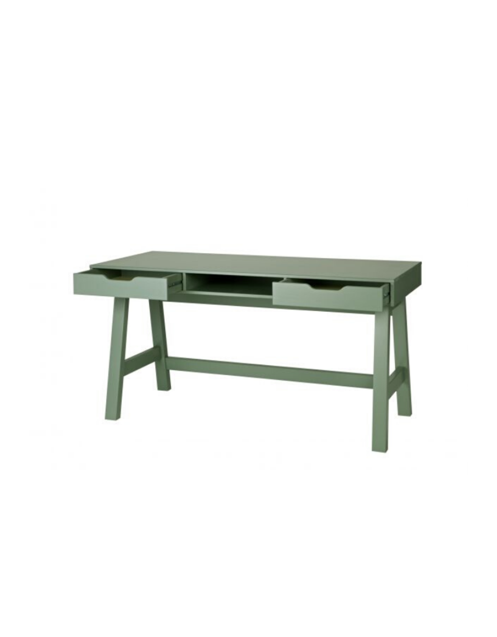 Bureau - groen grenen