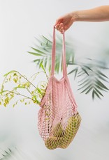 Shopper katoen - roze