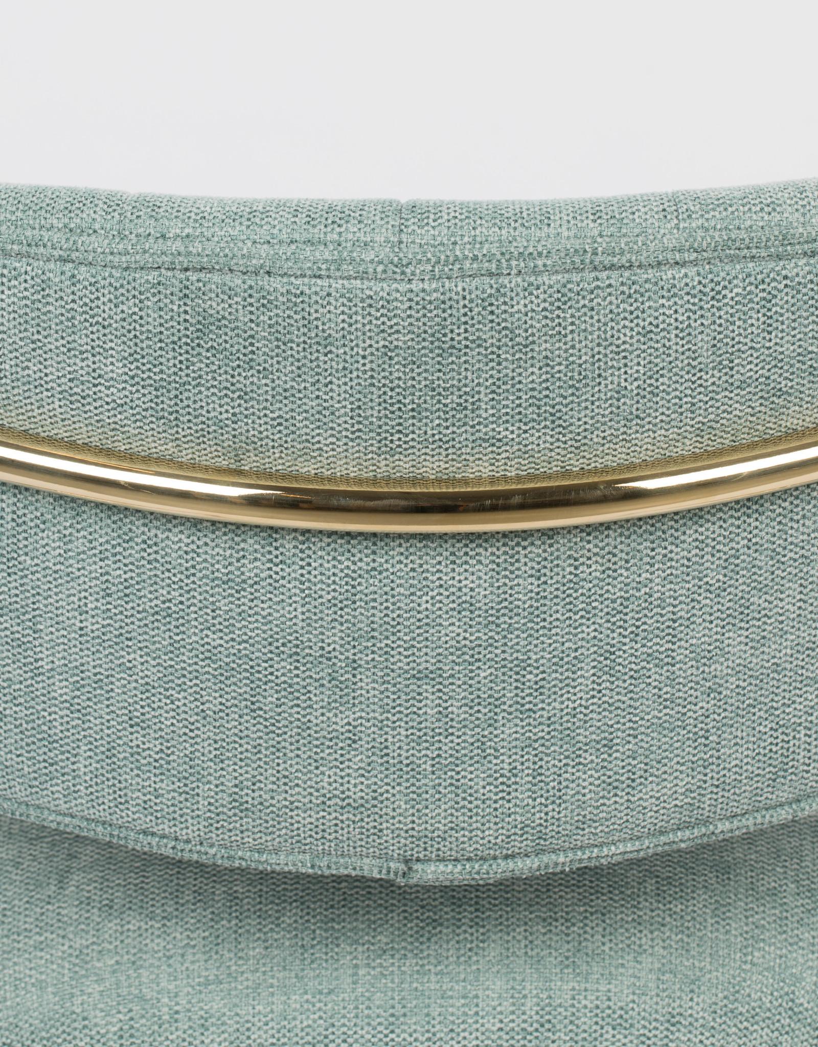 Fauteuil met gouden frame (4 kleuren)