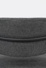 Fauteuil met zwarte frame en armleuningen (2 kleuren)