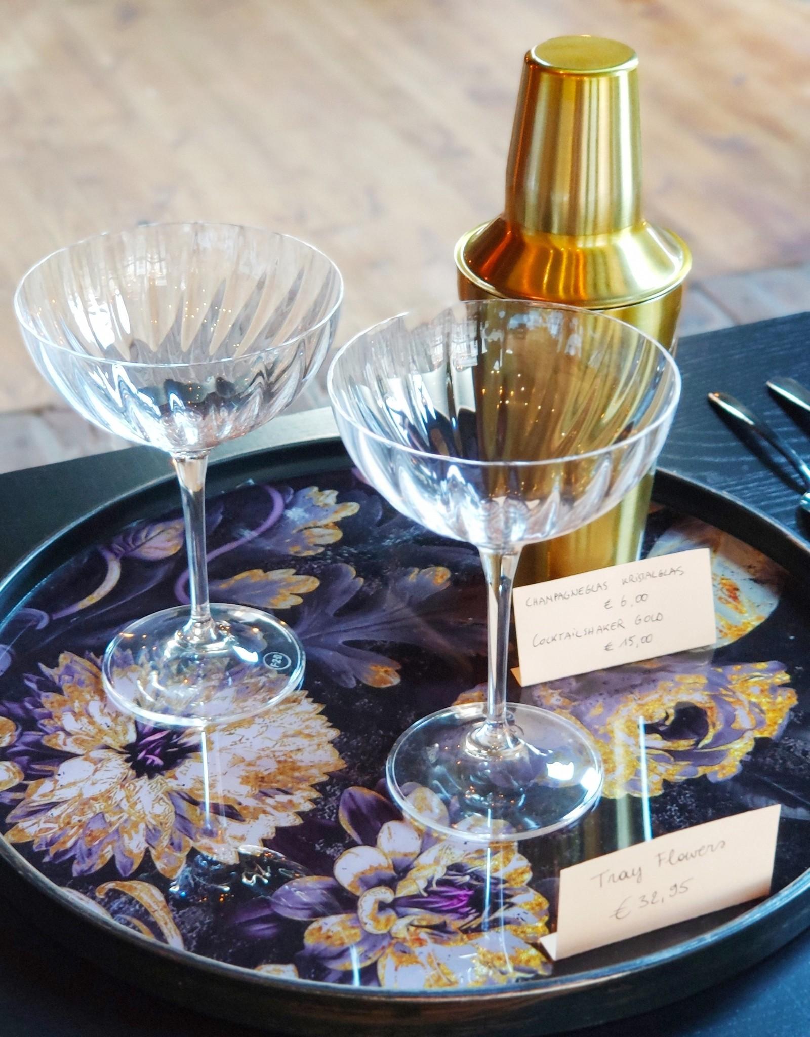Champagneglas 0.21L - Kristalglas
