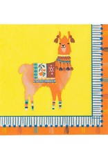 Servetten 25 x 25 cm - Boho Lama