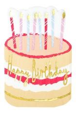 Servetten - Birthday Cake