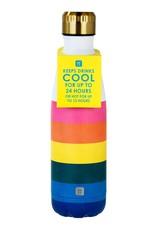Thermische drinkfles - Rainbow