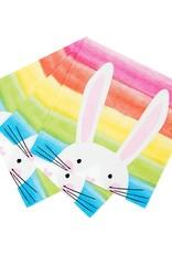 Servetten 33 x 33 cm - Hop Over the Rainbow Bunny