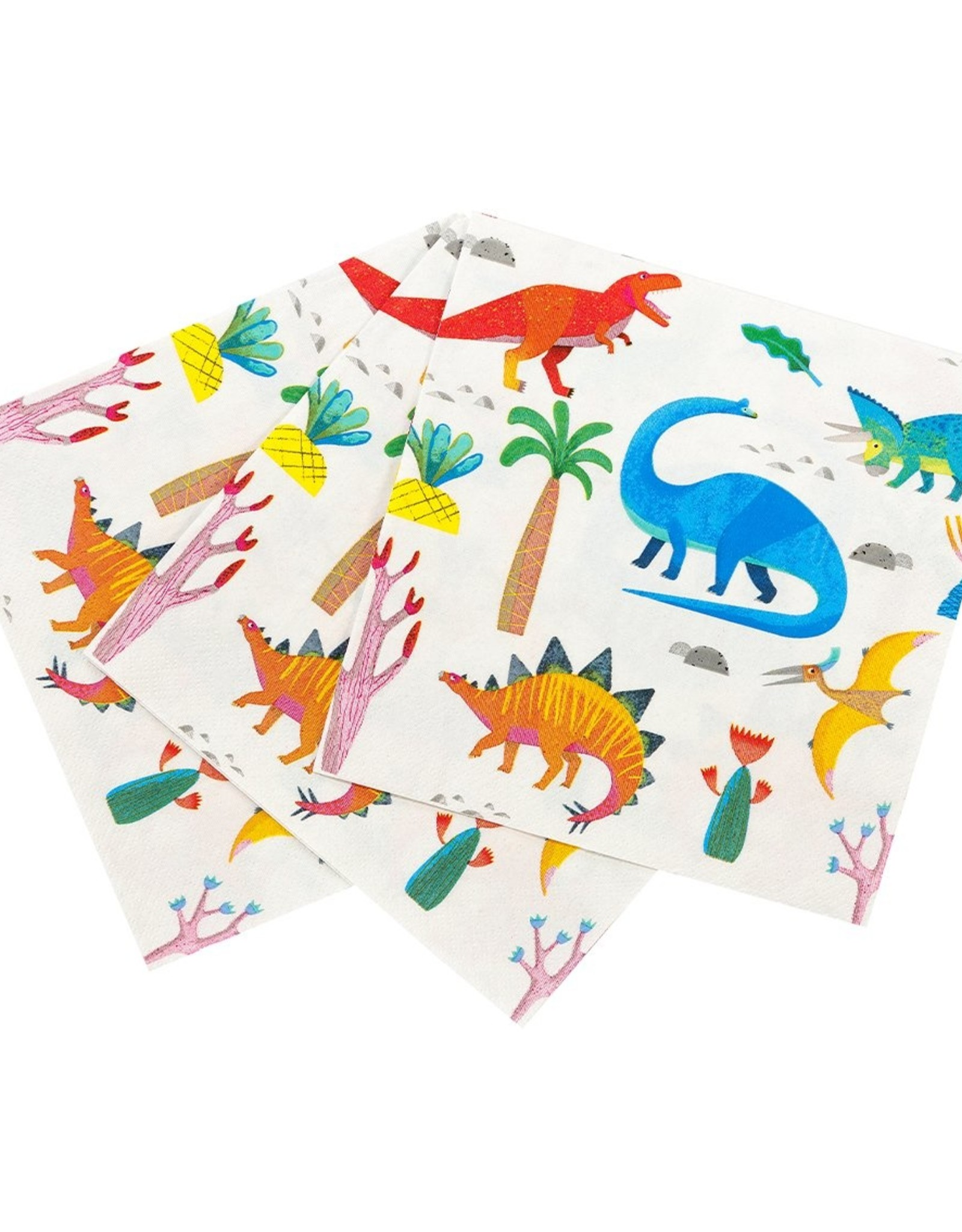 Servetten 33 x 33 cm - Party Dinosaur