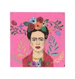 Servetten 25 x 25 cm - Frida Kahlo