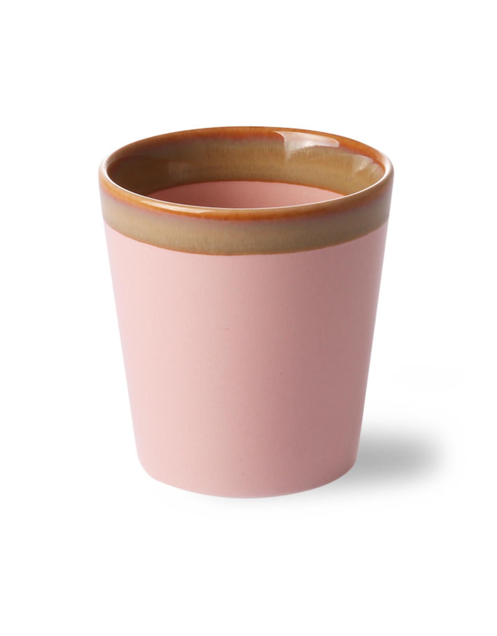 HK Living Beker 70s Pink 0,18L