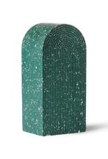 Boekensteun/Ornament Green Terrazzo
