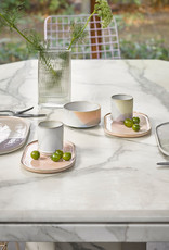 Beker Gallery ceramics - lila/yellow