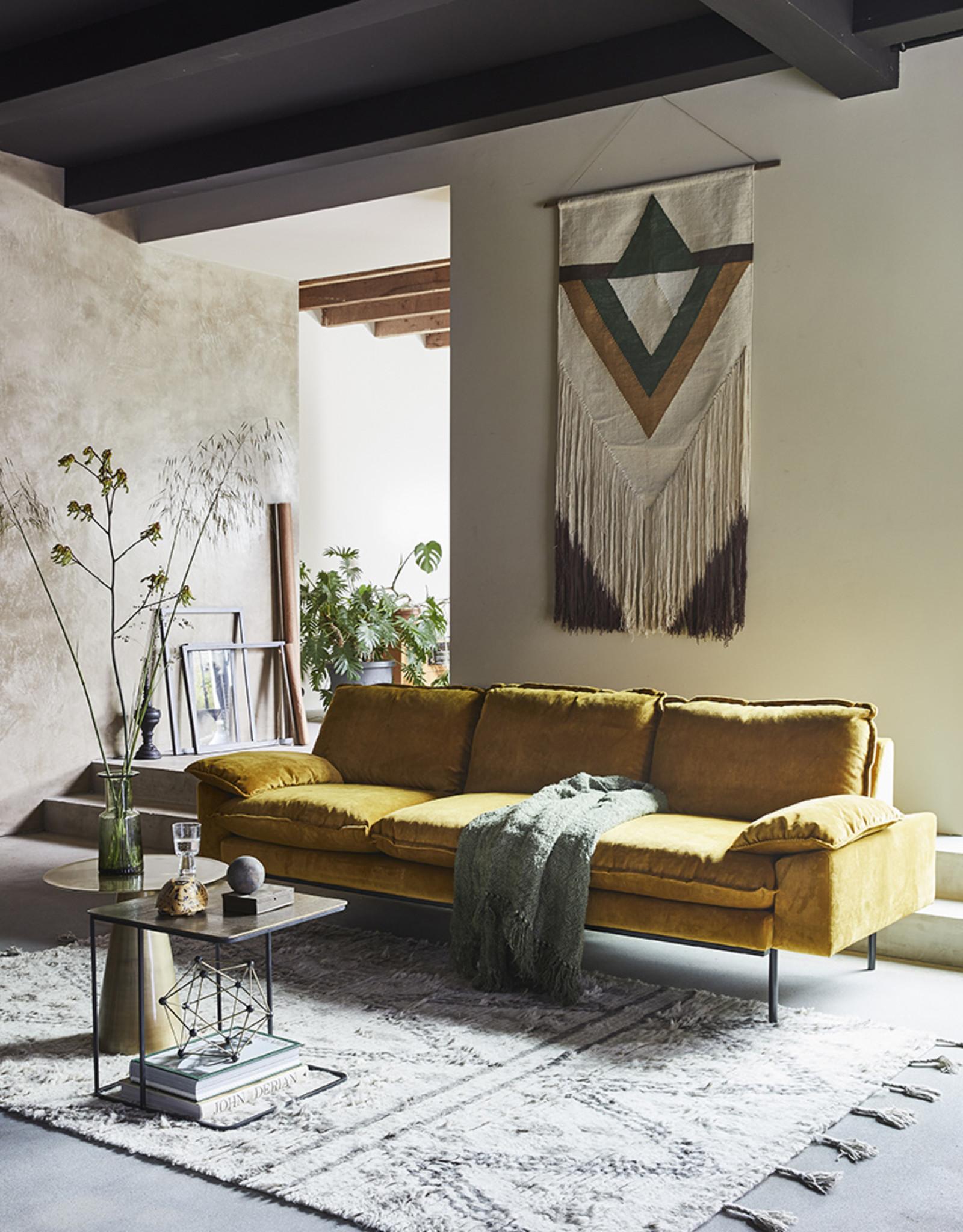 Retro Sofa 3-zitsbank (9 kleuren/stoffen)